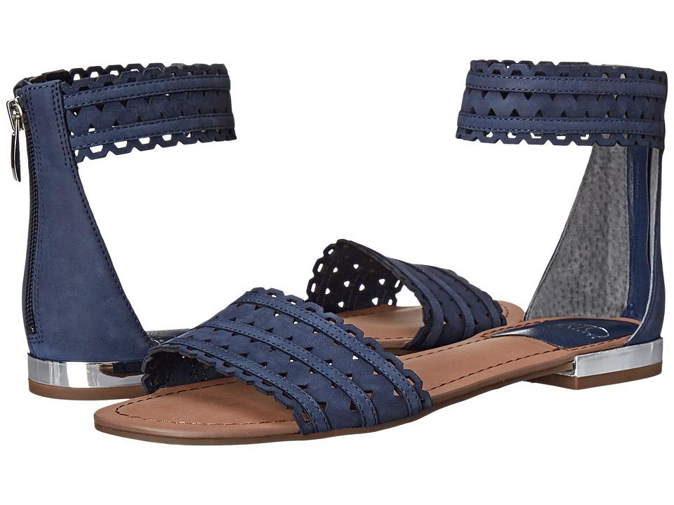 Franco Sarto Ara Dark Indigo Womens Sandals