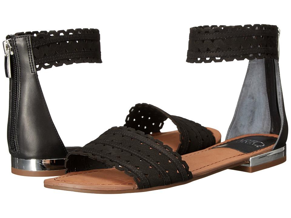 Franco Sarto Ara Black Womens Sandals