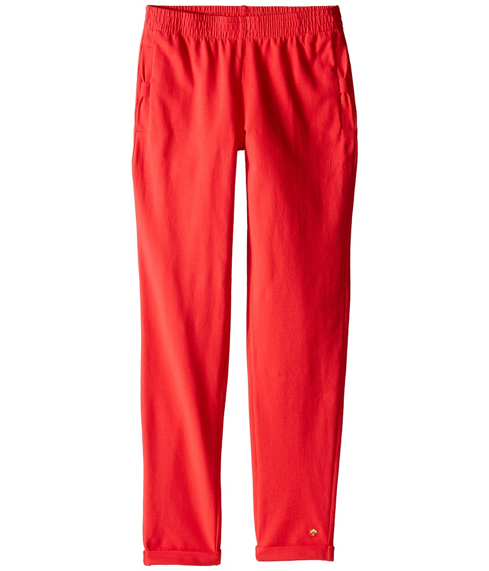 Kate Spade New York Kids Bow Pocket Lounge Pants Big Kids Geranium Girls Casual Pants