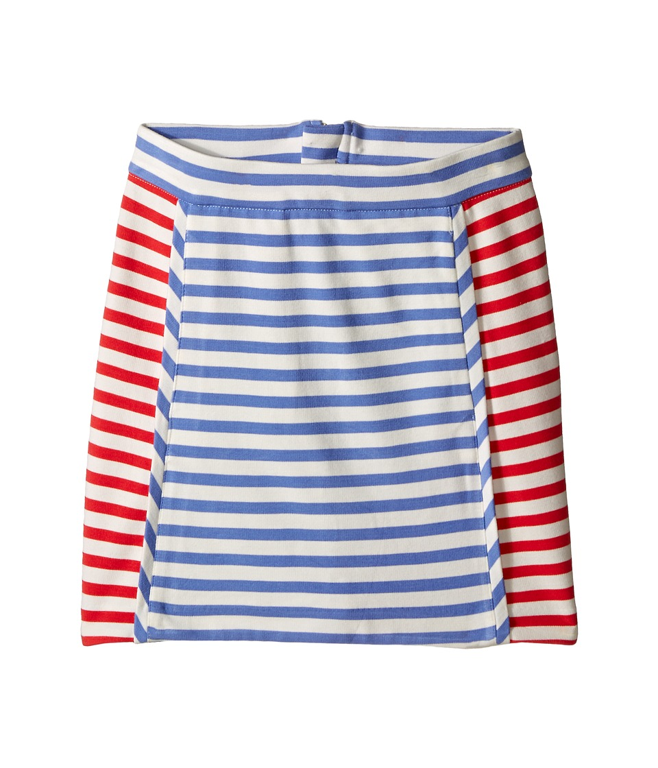 Kate Spade New York Kids Stripe A Line Skirt Big Kids Periwinkle/Geranium/Cream Stripe Girls Skirt