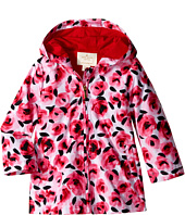 Kate Spade New York Kids - Hooded Rose Raincoat (Infant)