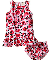 Kate Spade New York Kids - Drop Waist Rose Dress and Bloomer Set (Infant)