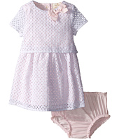 Kate Spade New York Kids - Eyelet Dress and Bloomer Set (Infant)