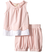 Kate Spade New York Kids - Scallop Tank Top and Shorts Set (Infant)