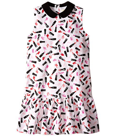 Kate Spade New York Kids Drop Waist Lipstick Dress (Big Kids)