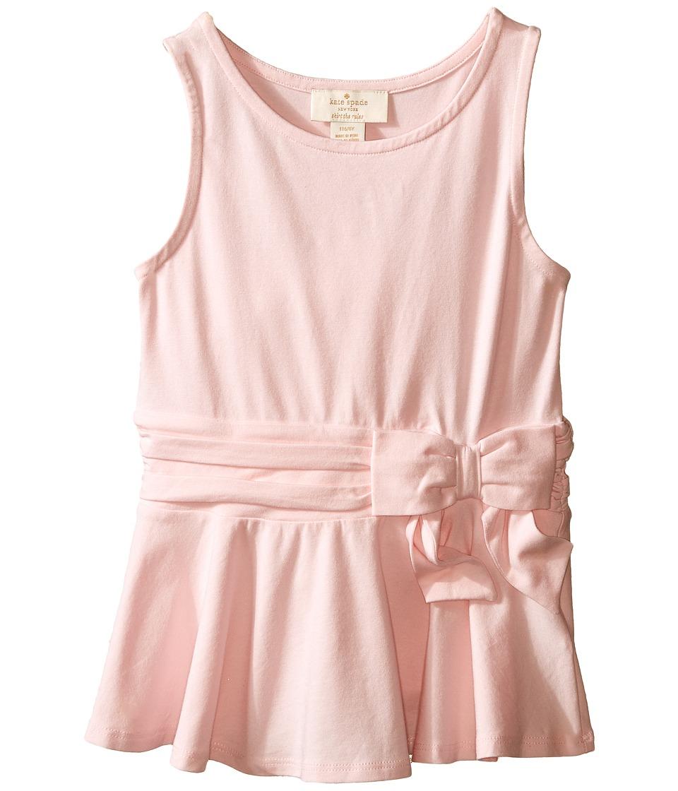 Kate Spade New York Kids Peplum Top Toddler/Little Kids Valentine Pink Girls Blouse
