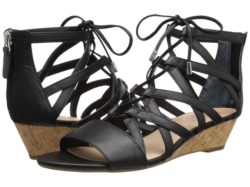 Franco Sarto Brixe Black Womens Sandals