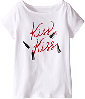 Kate Spade New York Kids - Kiss Kiss Tee (Toddler/Little Kids)