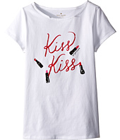 Kate Spade New York Kids - Kiss Kiss Tee (Big Kids)