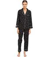 Kate Spade New York - Lawn Long Notch Collar PJ Set