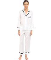 Kate Spade New York - Sateen Notch Collar PJ Set