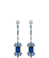 GUESS - Stone Cluster on Stick Linear Drop Earrings