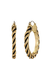 GUESS - Twisted Cable Hoop Earrings