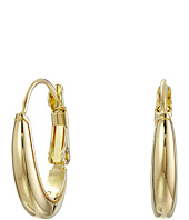 Cole Haan - Small Polished Metal Oval Hoop Earrings