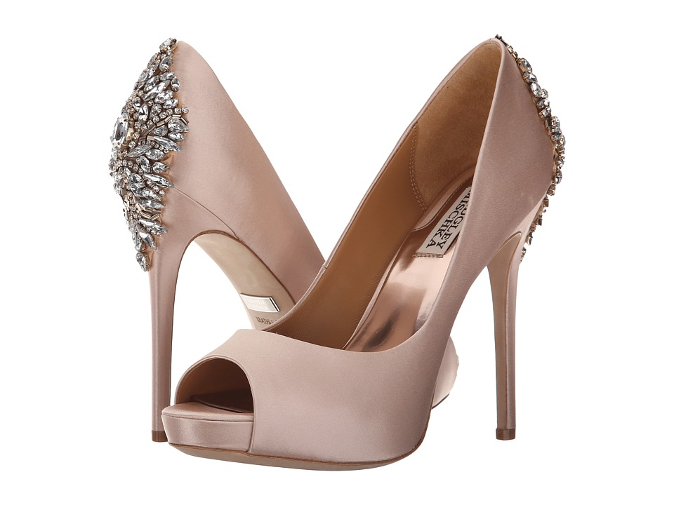 Badgley Mischka Kiara (Pink Satin) High Heels