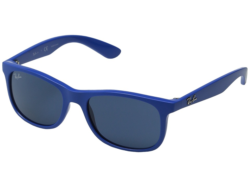 Ray-Ban Junior - RJ9062S 48mm (Youth) (Matte Blue/Dark Blue) Fashion Sunglasses