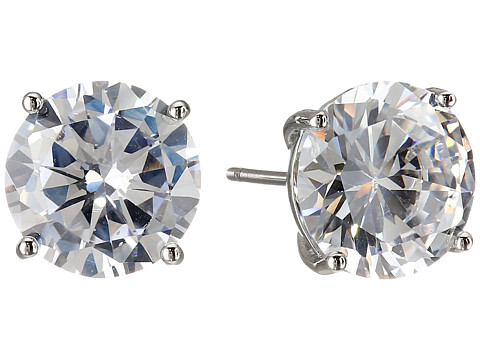 Cole Haan Logo Gallery Set Stud Earrings - Silver/Crystal
