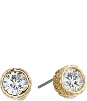 Cole Haan - Small Round CZ Stud Earrings