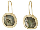 Cole Haan Cushion Cut Semi Precious Drop Earrings