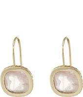Cole Haan - Cushion Cut Semi Precious Drop Earrings