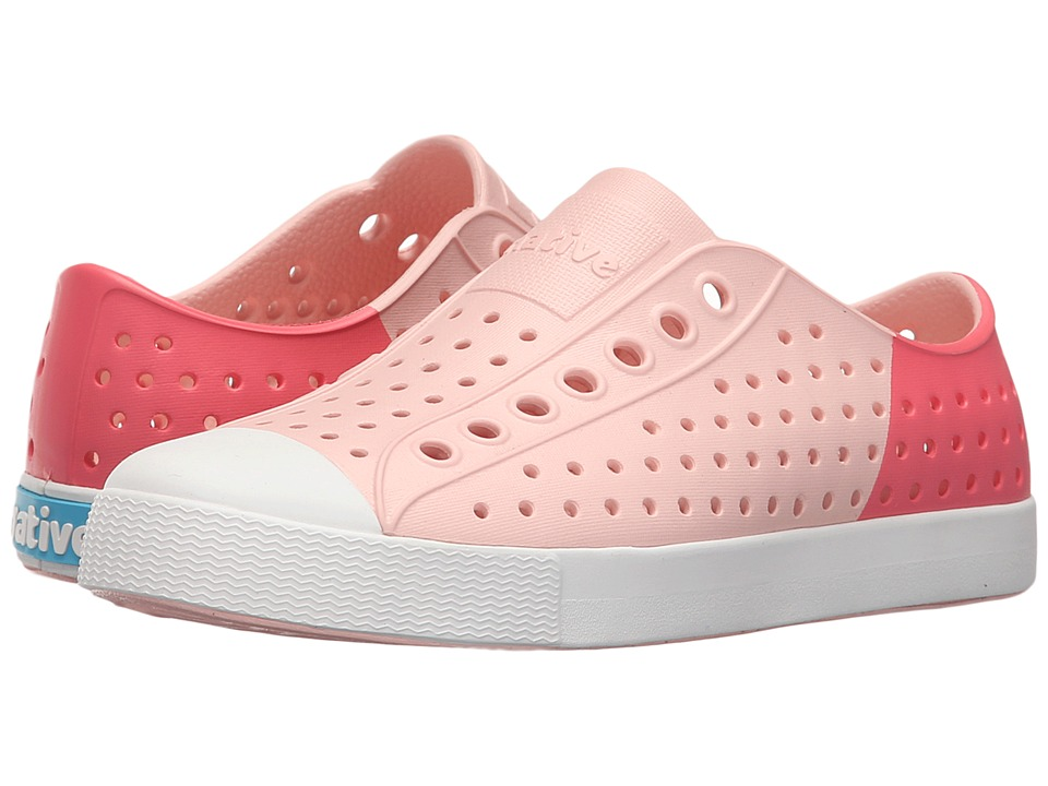 Native Shoes Jefferson Pucci Pink/Shell White/Snapper Red Block Shoes