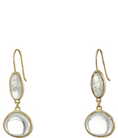 Cole Haan - Semi Precious Doorknocker Earrings