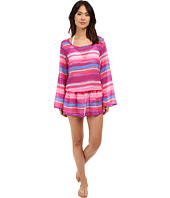 Athena - Bermuda Sunrise Tunic Cover-Up