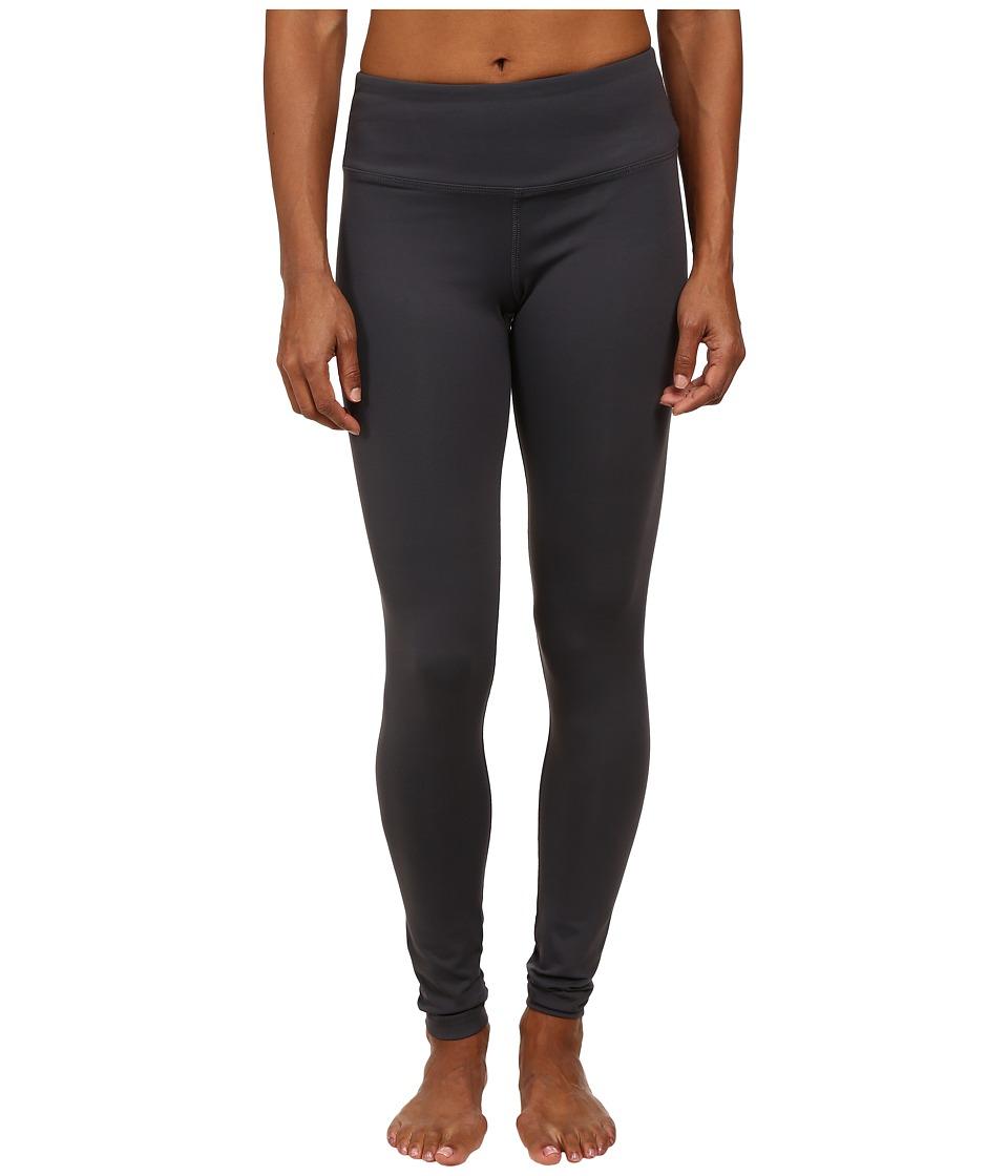 Hard Tail Flat Waist Ankle Leggings (Gray) Women's Casual...