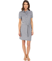 Lacoste - Short Sleeve Caviar Pique Polo Dress