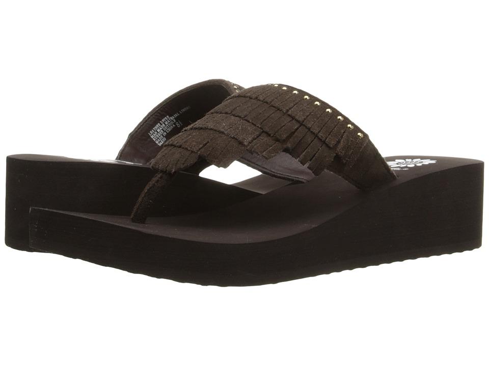 Yellow Box Dario Brown Womens Sandals