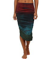 Hard Tail - Shirred Poet Skirt
