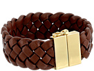 Cole Haan Braided Leather Bracelet