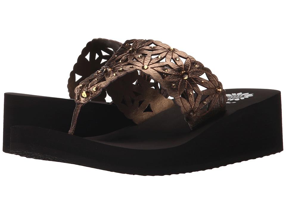 Yellow Box Pasadena Bronze Womens Sandals