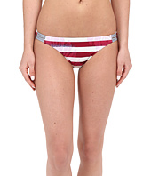 Roxy - Liberty Reversible 70's Braided Bikini Bottom