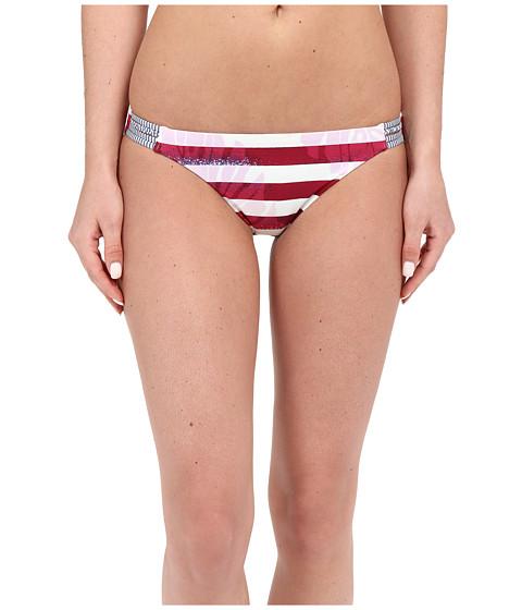 Roxy Liberty Reversible 70's Braided Bikini Bottom
