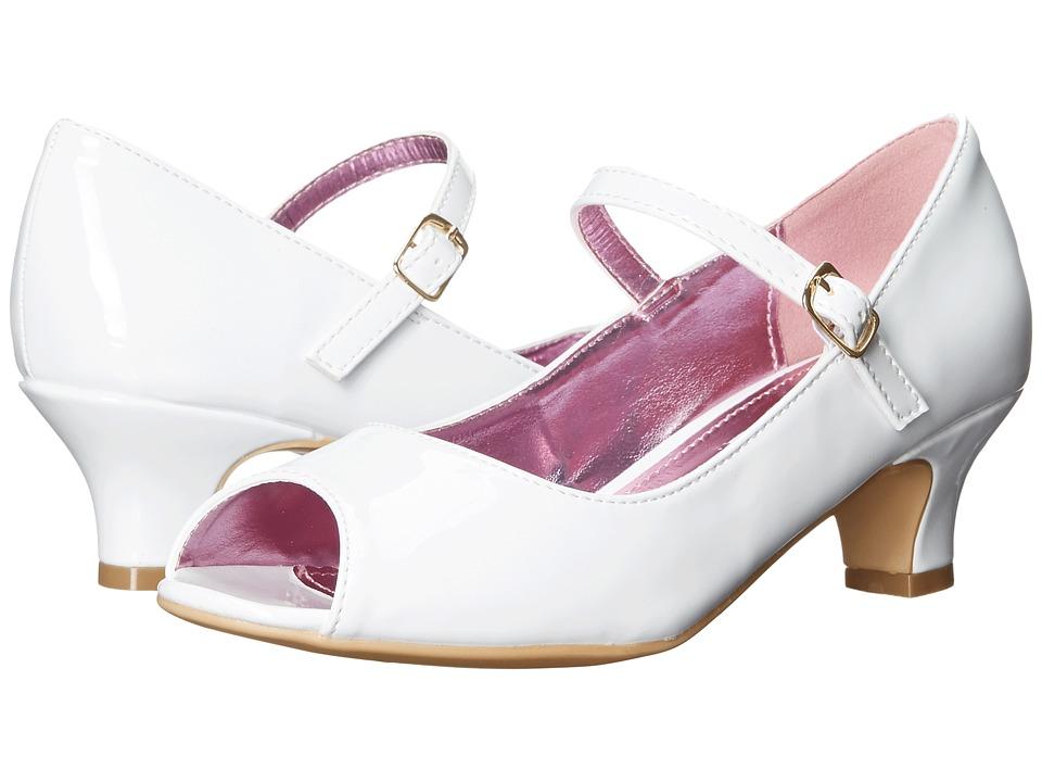 Steve Madden Kids Jbae Little Kid/Big Kid White Girls Shoes