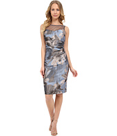 Maggy London - Splash Flower Jacquard Sheath