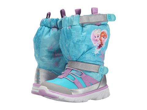 Stride Rite Frozen Made 2 Play Sneaker Boot (Toddler/Little Kid) - Turquoise Multi