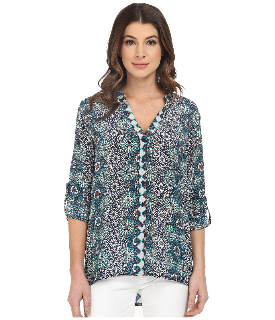 Tolani Amy Button Up Top Dreamcatcher Womens Clothing