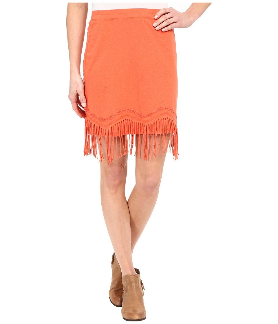 Double D Ranchwear Buckeye Boo Skirt Apricot Womens Skirt