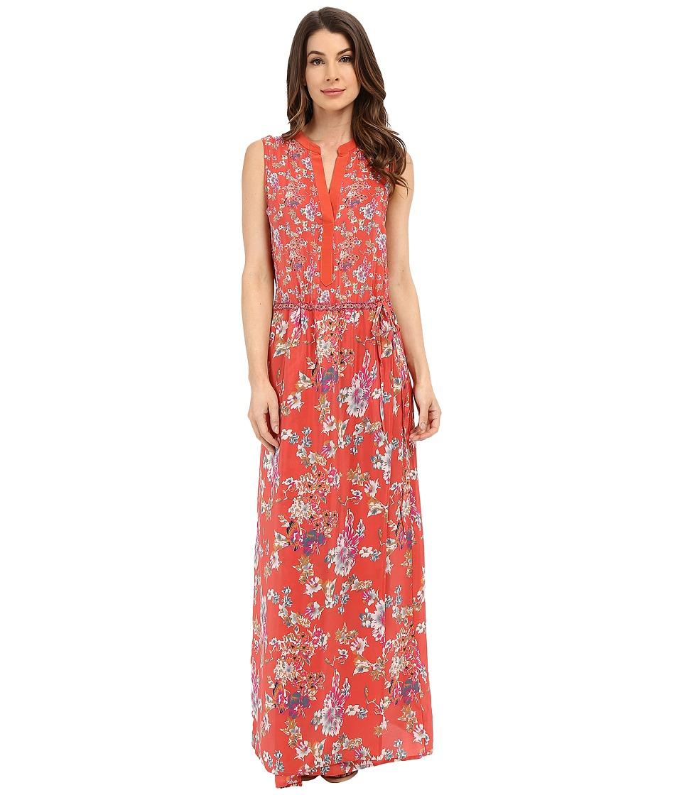 Tolani Nadia Maxi Dress Coral Womens Dress