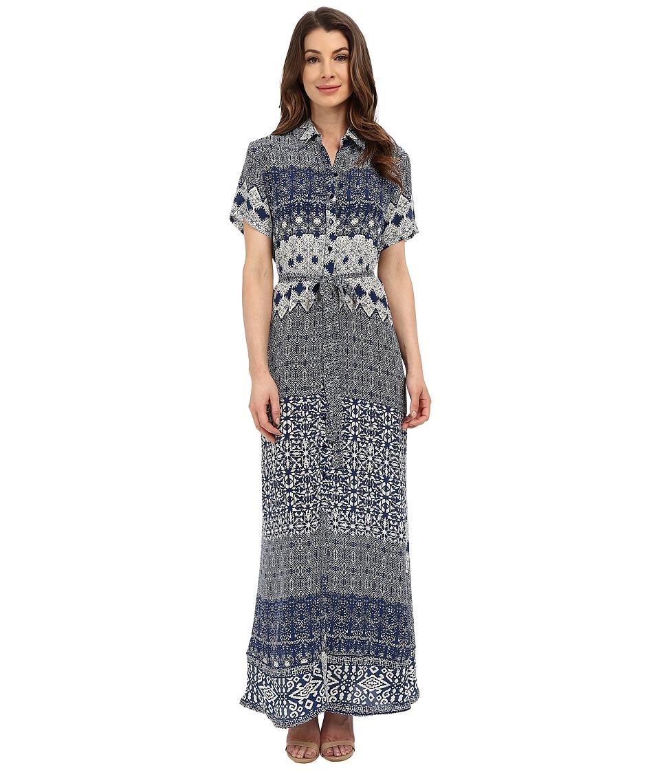 Tolani Amanda Maxi Dress Navy Womens Dress