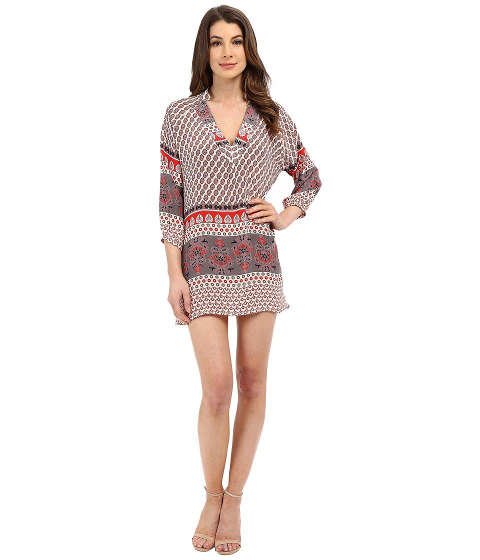 Tolani Nisha Tunic Dress Ivory Womens Dress