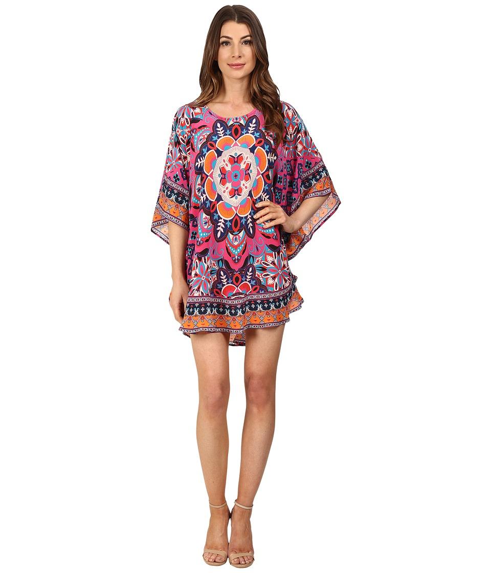 Tolani Narissa Dress Fuchsia Starburst Womens Dress