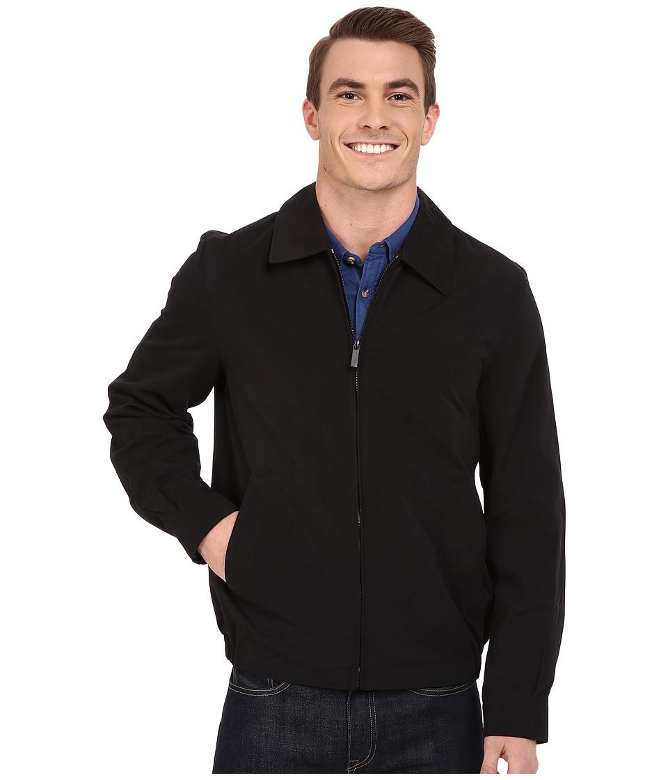 Perry Ellis Microfiber Golf Jacket Black 1 Mens Coat