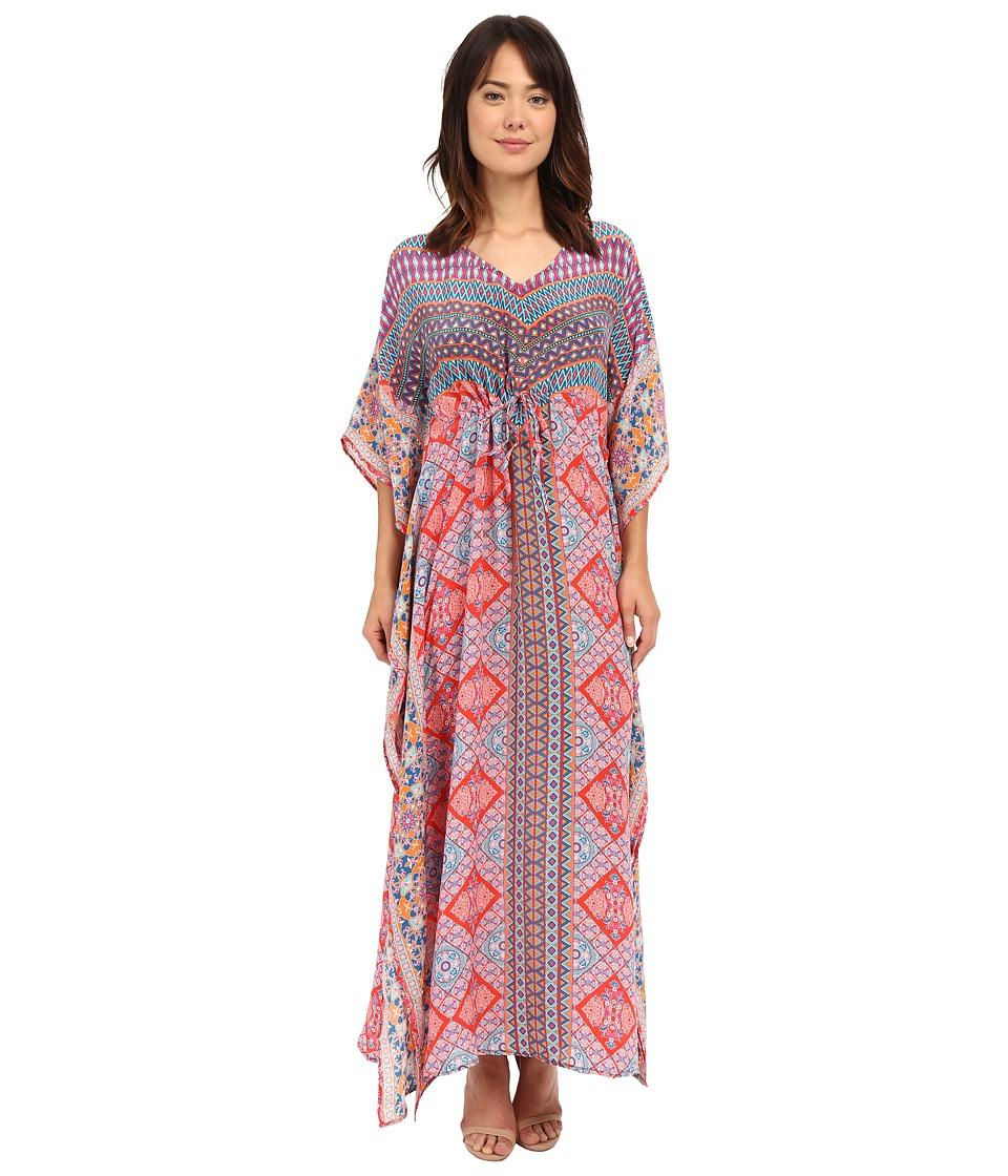 Tolani Kimi Maxi Dress Red Geo Womens Dress