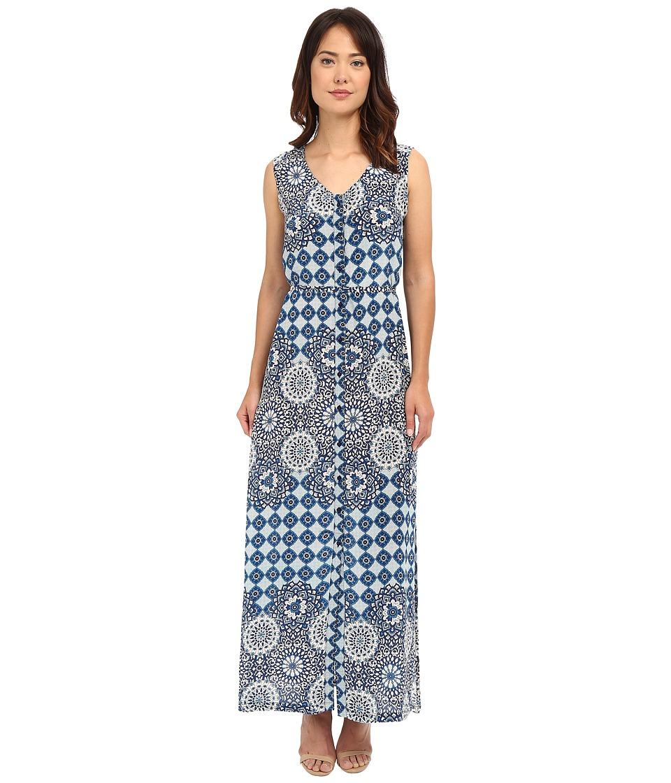 Tolani Gemma Maxi Dress Blue Womens Dress