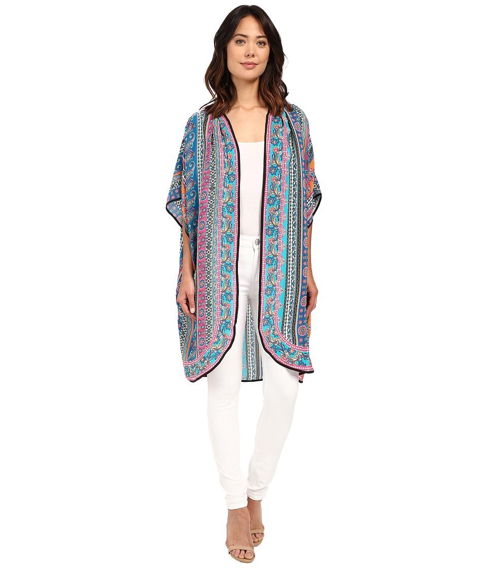 Tolani Anyra Kimono Multi Womens Blouse