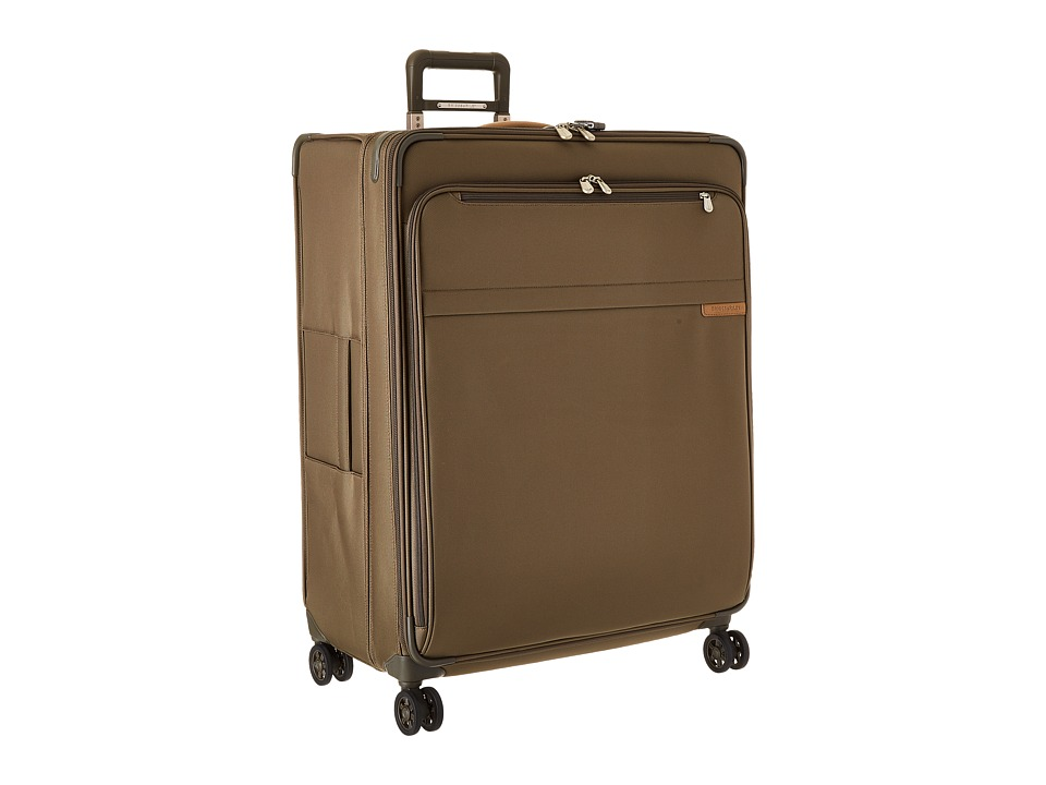 Briggs & Riley - Baseline - Extra Large Expandable Spinner (Olive) Luggage