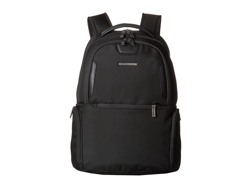 Briggs & Riley - @Work - Medium Multi-Pocket Backpack (Black) Backpack Bags